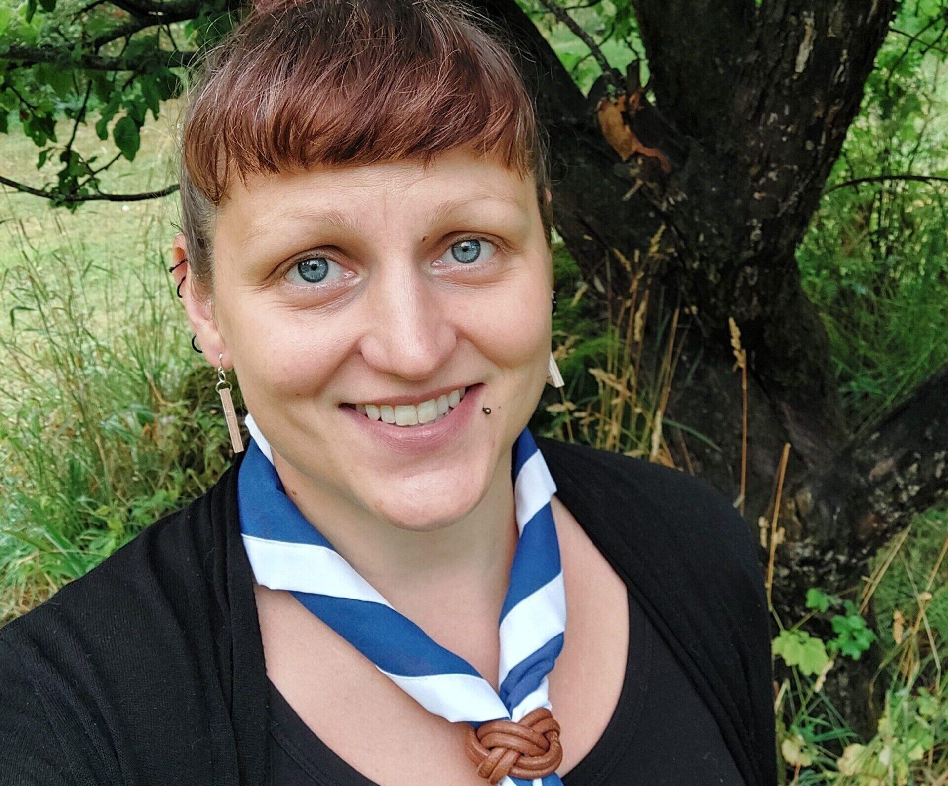 Saavutettavuusvastaava Jenny Airaksinen.